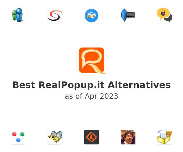 Best RealPopup.it Alternatives