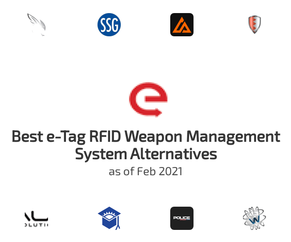 Best e-Tag RFID Weapon Management System Alternatives