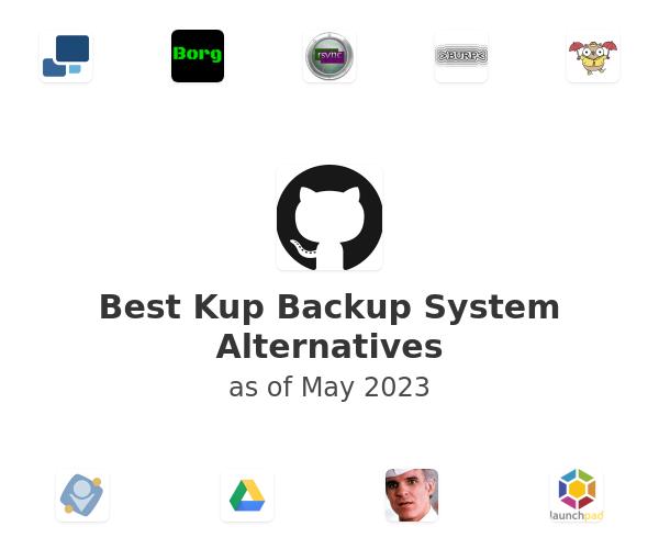 Best Kup Backup System Alternatives