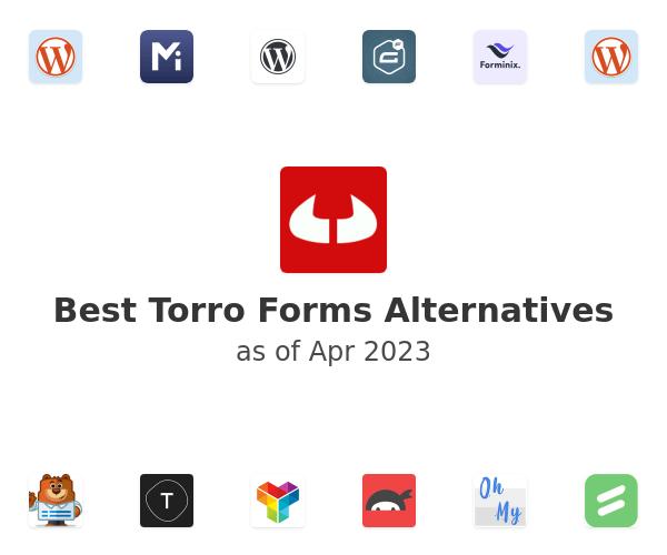 Best Torro Forms Alternatives
