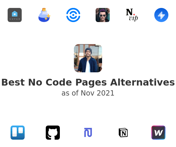 Best No Code Pages Alternatives