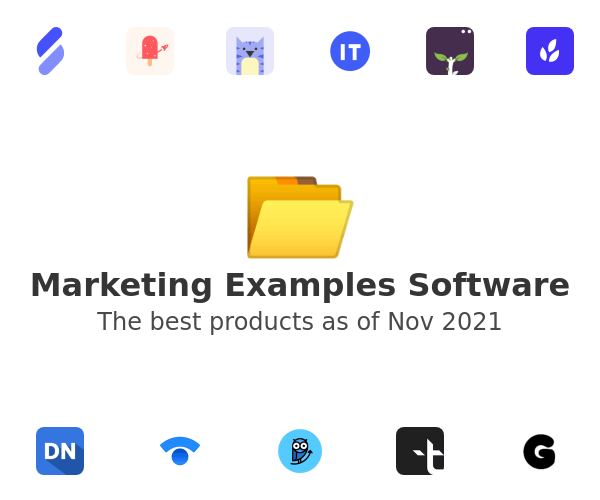 Marketing Examples Software