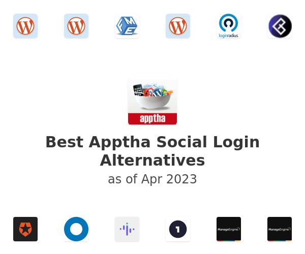 Best Apptha Social Login Alternatives