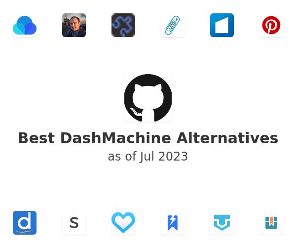 Best DashMachine Alternatives