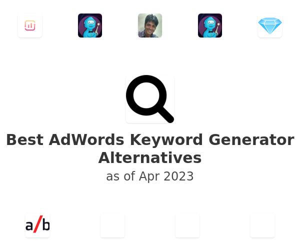 Best AdWords Keyword Generator Alternatives