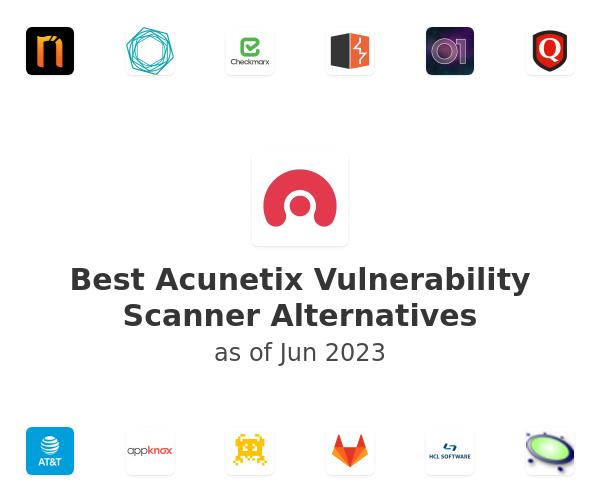 Best Acunetix Vulnerability Scanner Alternatives