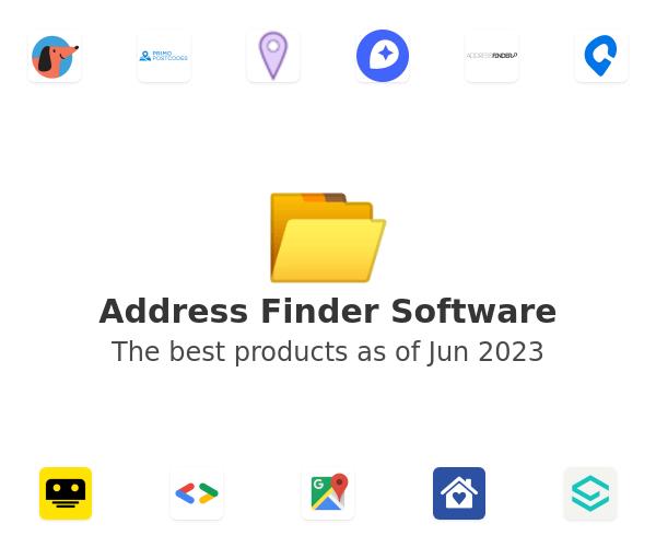 Address Finder Software