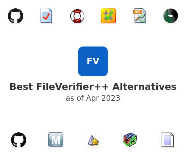 Best FileVerifier++ Alternatives