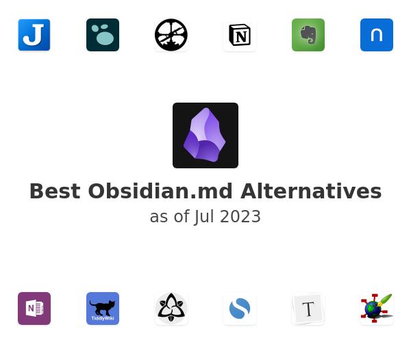 Best Obsidian.md Alternatives