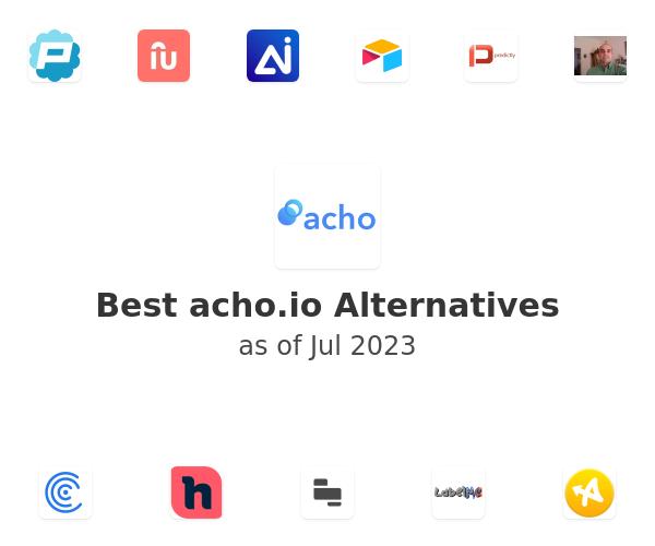Best acho.io Alternatives