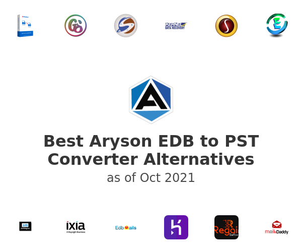 Best Aryson EDB to PST Converter Alternatives