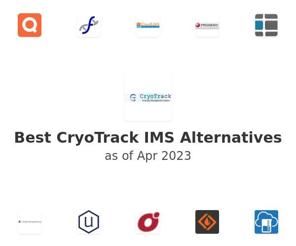 Best CryoTrack IMS Alternatives