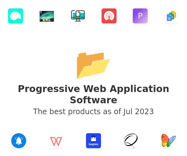 Progressive Web Application Software