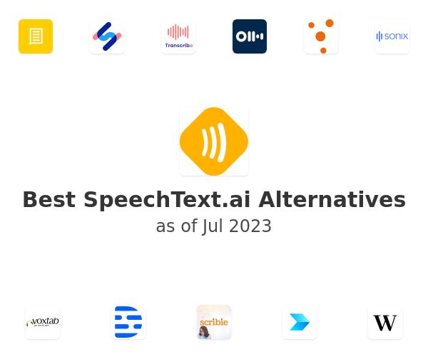 Best SpeechText.ai Alternatives