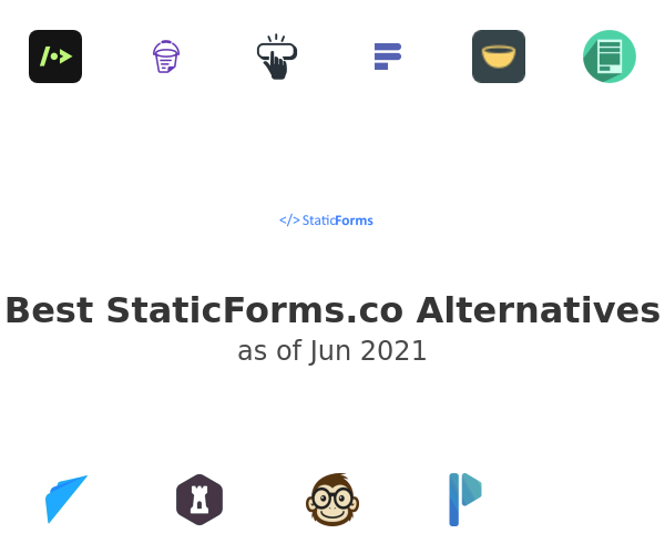 Best StaticForms.co Alternatives