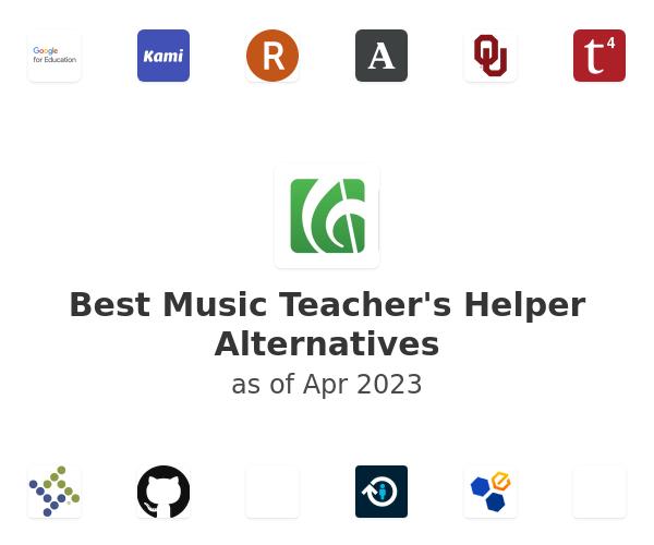 Best Music Teacher's Helper Alternatives