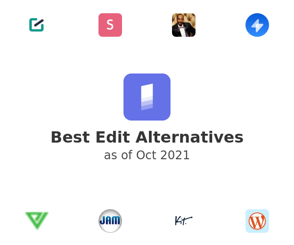Best Edit Alternatives