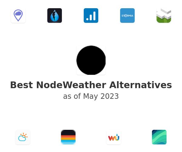 Best NodeWeather Alternatives