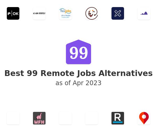 Best 99 Remote Jobs Alternatives