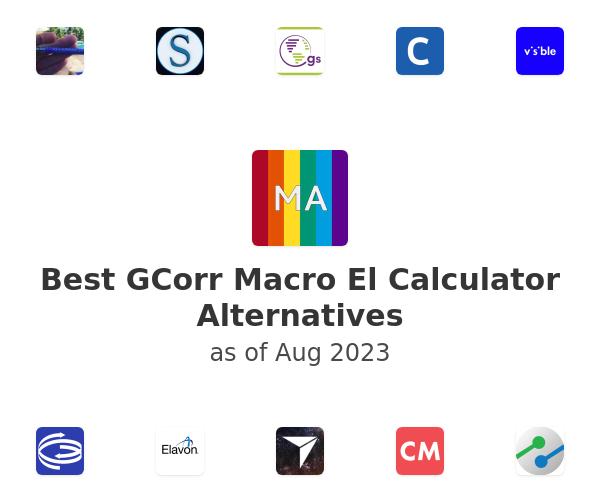 Best GCorr Macro El Calculator Alternatives