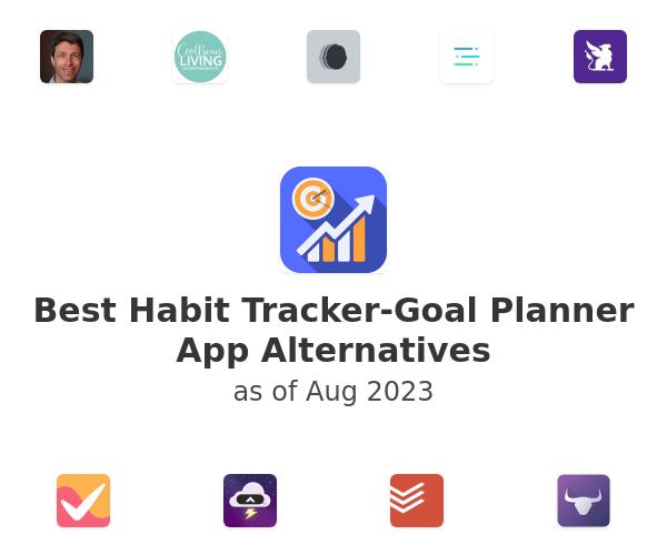 Best Habit Tracker-Goal Planner App Alternatives