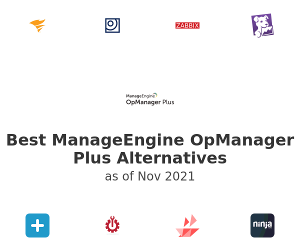 Best ManageEngine OpManager Plus Alternatives