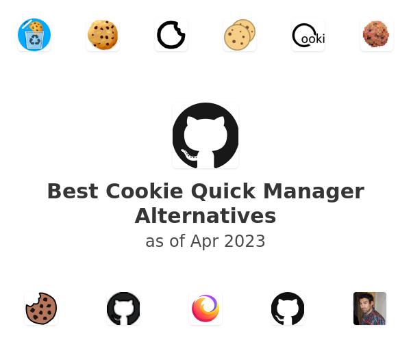 Best Cookie Quick Manager Alternatives