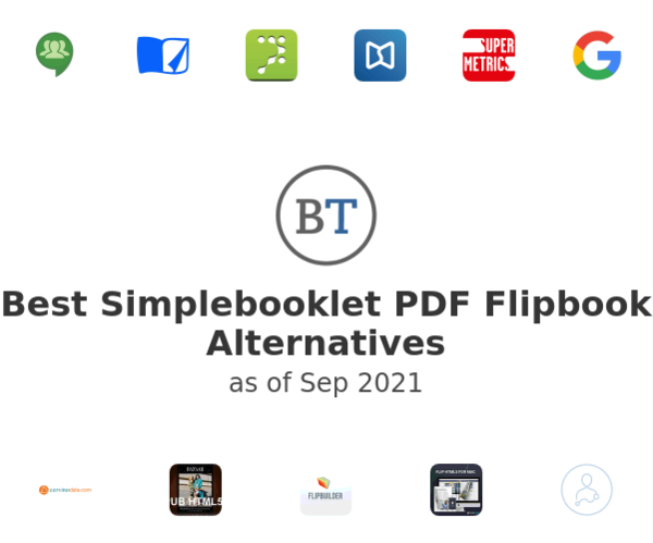 Best Simplebooklet PDF Flipbook Alternatives