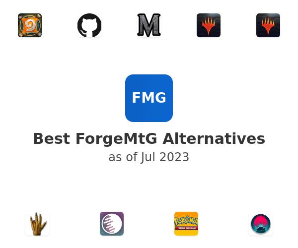 Best ForgeMtG Alternatives