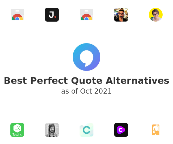 Best Perfect Quote Alternatives