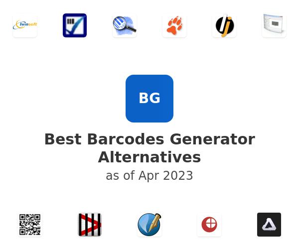 Best Barcodes Generator Alternatives