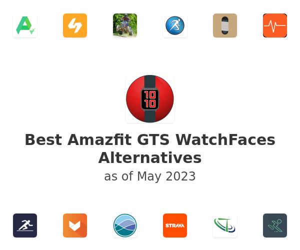 Best Amazfit GTS WatchFaces Alternatives
