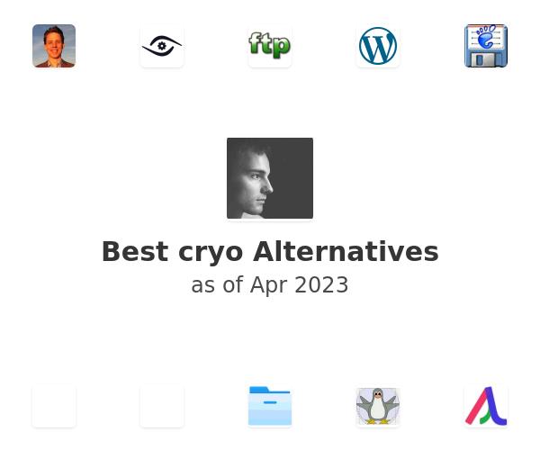 Best cryo Alternatives