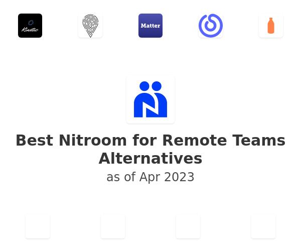 Best Nitroom for Remote Teams Alternatives