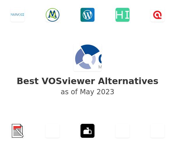 Best VOSviewer Alternatives