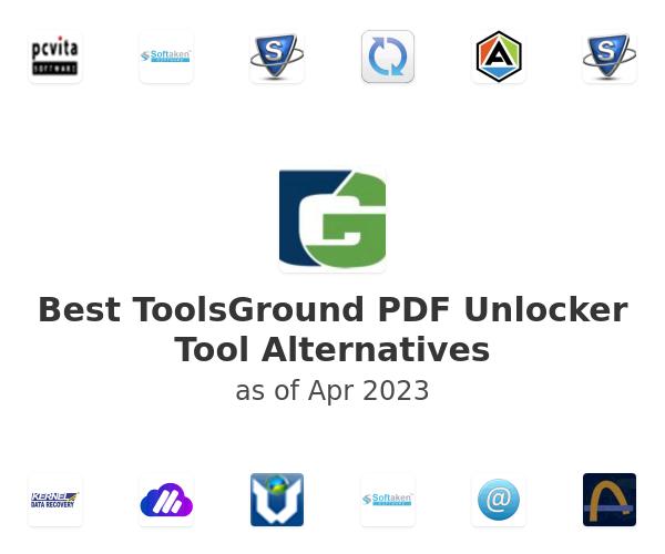 Best ToolsGround PDF Unlocker Tool Alternatives