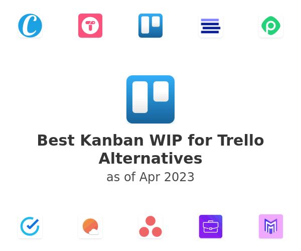 Best Kanban WIP for Trello Alternatives