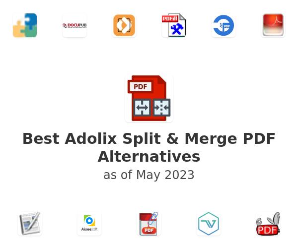 Best Adolix Split & Merge PDF Alternatives