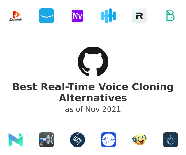 Best Real-Time Voice Cloning Alternatives