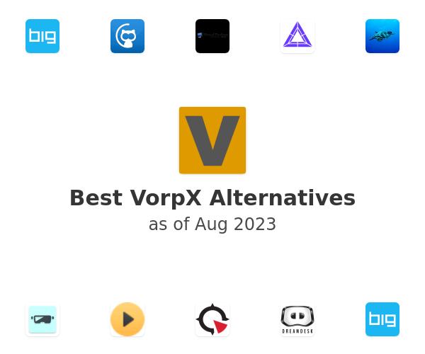 Best VorpX Alternatives
