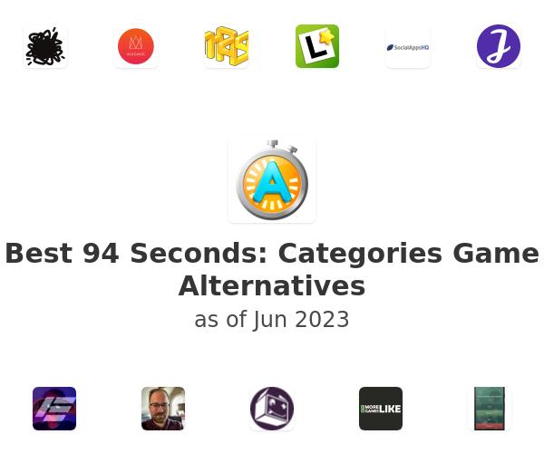 Best 94 Seconds: Categories Game Alternatives