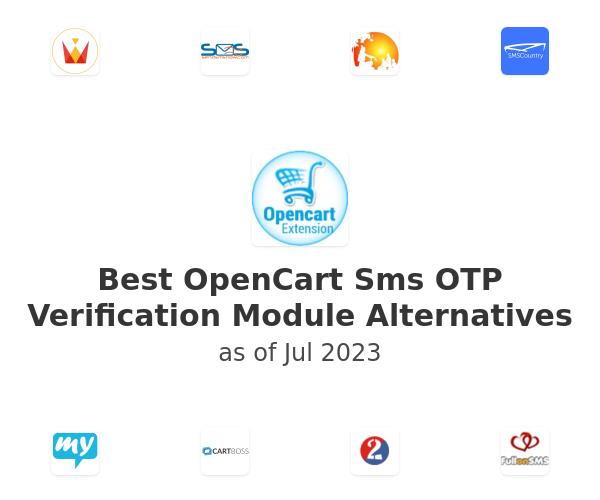 Best OpenCart Sms OTP Verification Module Alternatives
