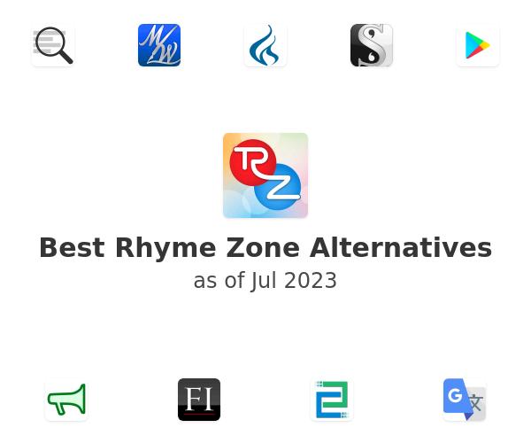 Best Rhyme Zone Alternatives