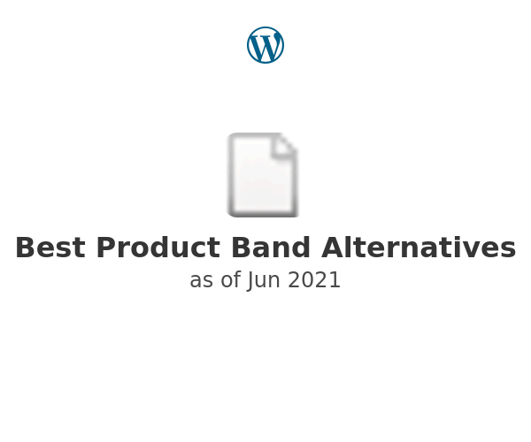 Best Product Band Alternatives