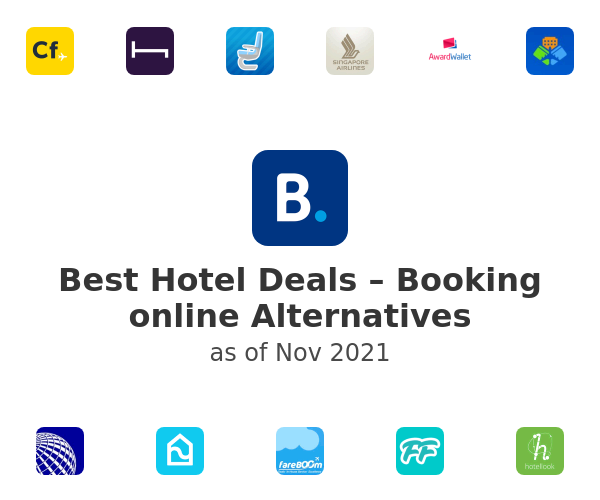 Best Hotel Deals – Booking online Alternatives