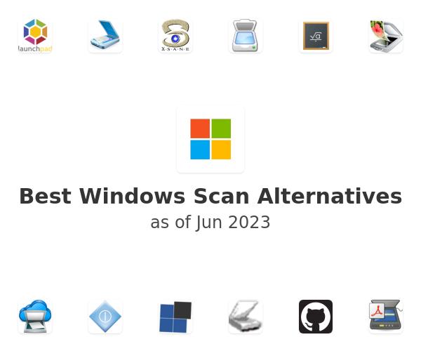 Best Windows Scan Alternatives