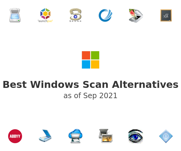 Best Windows Scan Alternatives