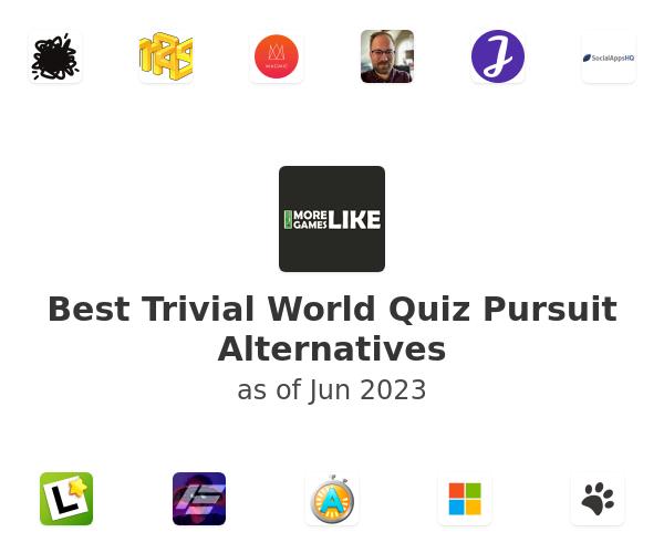 Best Trivial World Quiz Pursuit Alternatives