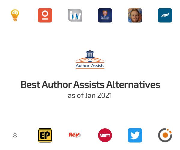 Best Author Assists Alternatives