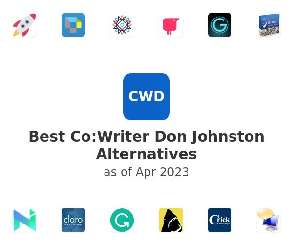 Best Co:Writer Don Johnston Alternatives